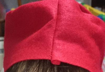トイストーリー ジェシーのコスチューム作成 帽子編